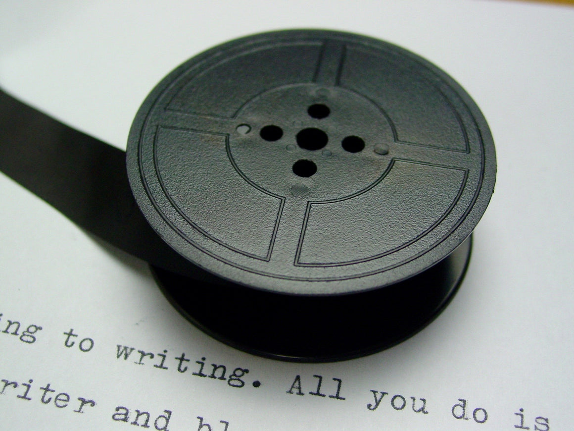 Plain Black Group 9 Typewriter Ribbon from Charlie Foxtrot
