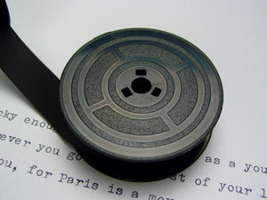 Plain Black Group 4 Typewriter Ribbon from Charlie Foxtrot