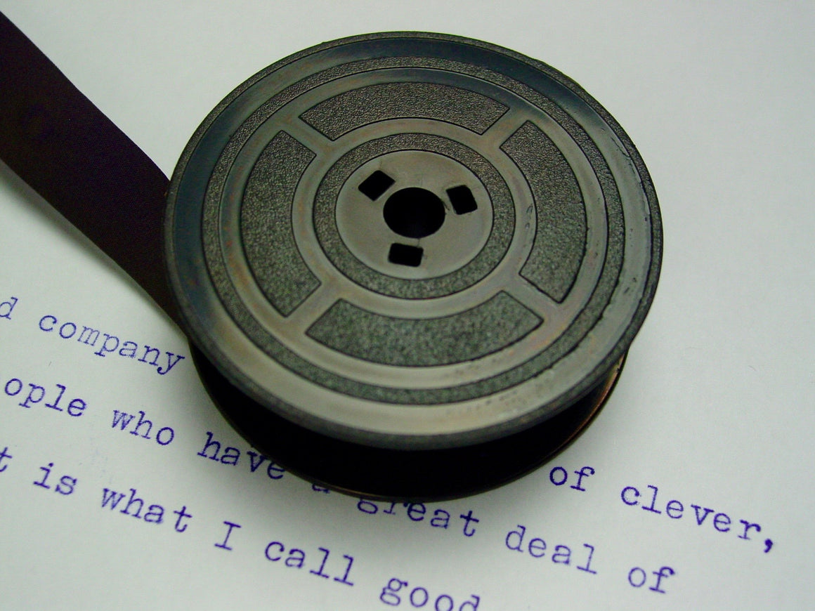 New Plain Purple Group 4 Typewriter Ribbon for Olivetti
