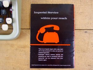 "Imperial ""Good Companion"" No 6 Instruction Manual Set"