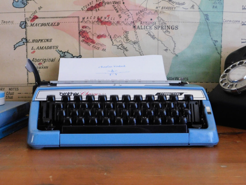 Typewriter -  Brother Charger ll