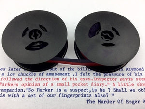 New Navy Blue and Red Universal Typewriter Ribbon