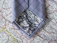 Charlie Foxtrot tie with map tipping
