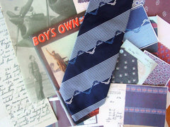 Charlie Foxtrot tie woven by Stephen Walters Silk Mill