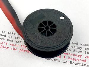 Red and Black Group 9 Typewriter Ribbon from Charlie Foxtrot