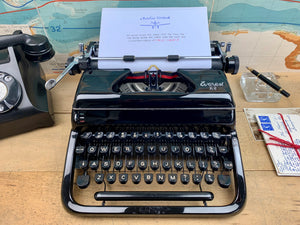 Everest K2  Typewriter from Charlie Foxtrot Typewriters