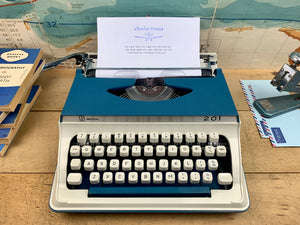 Imperial 201 Typewriter from Charlie Foxtrot Typewriters