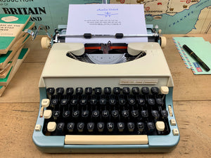 Typewriter, 1962 Imperial No 7