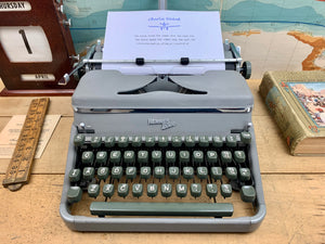 Hermes 2000 Typewriter from Charlie Foxtrot Typewriters