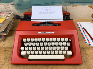 Typewriter, Olivetti College