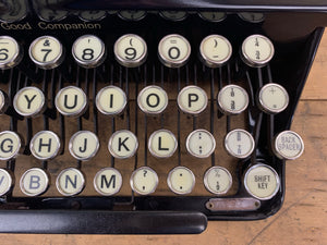 Typewriter ,  Imperial 1937  - The Good Companion 1