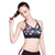 Geometric Print Mesh Push Up Bra - MasterYoga | Yoga Clothing & Accessorize