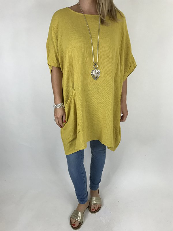 Casual Half Sleeve Plus Size Tops