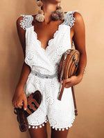 Lace Sexy Sleeveless Jumpuit Romper