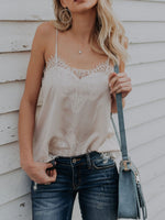 Sleeveless Lace Sexy Vest Camis