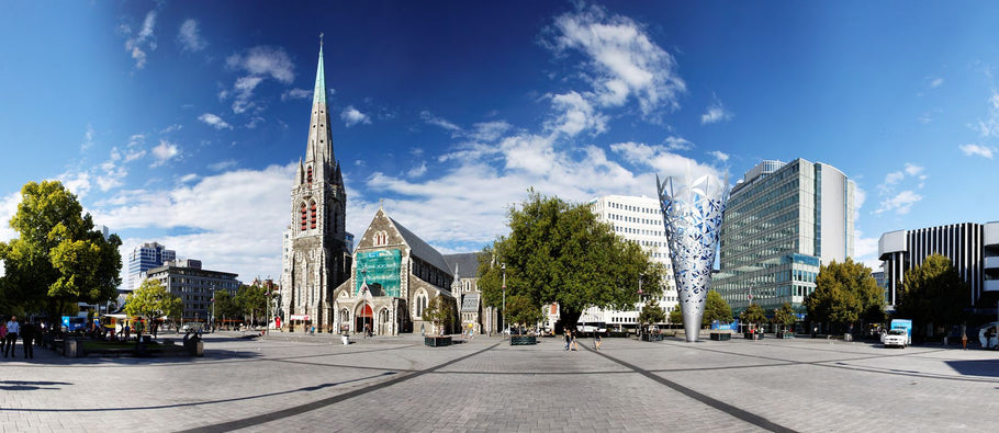 🚨📣 August's Theme: Products from Christchurch City, New Zealand! ⛪