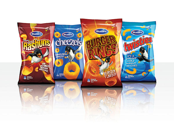 QUIZ: Bluebird Cheese Chips Range! What's your Favourite's?!