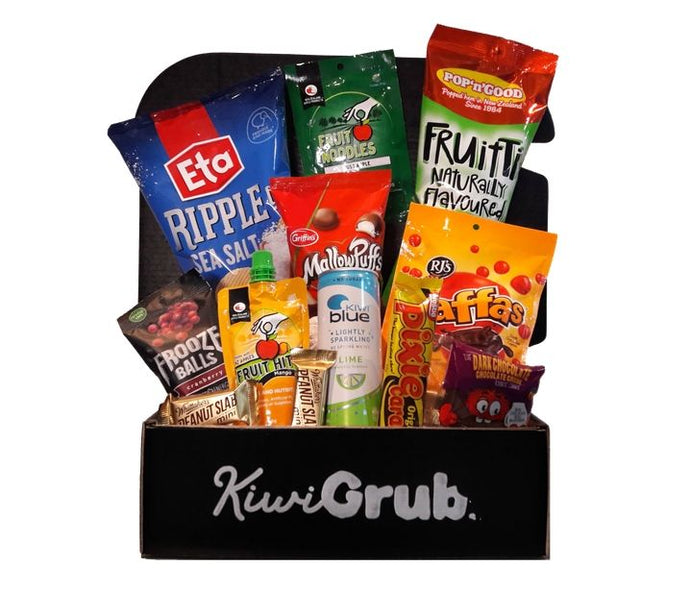 October's International Snack Box Subscriptions from New Zealand