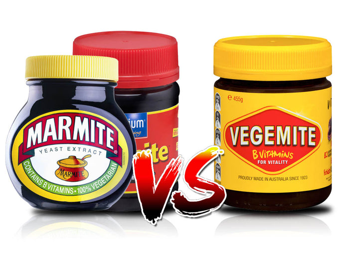Marmite Vs Vegemite - Whats the real difference?