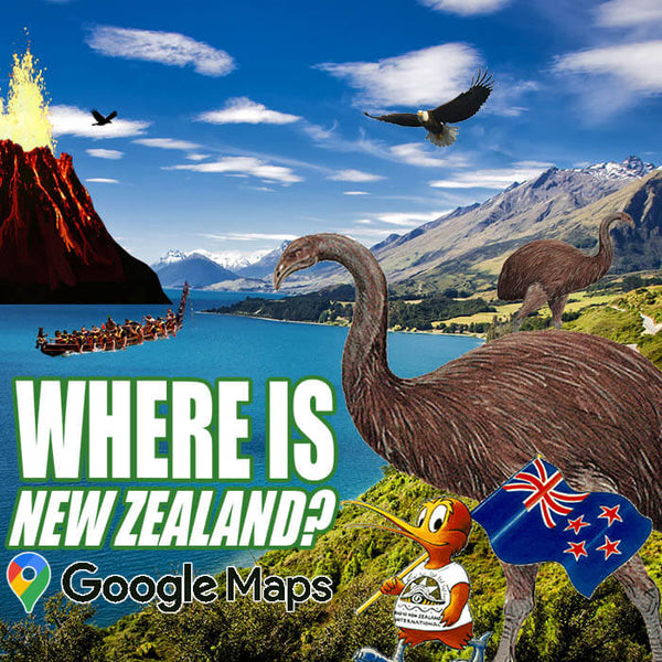 Where is New Zealand Located?
