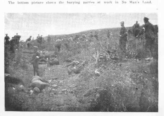 Burying parties on no-mans land during Gallipoli Armistice