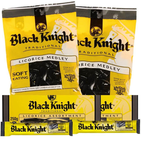 Black Knight Licorice New Zealand