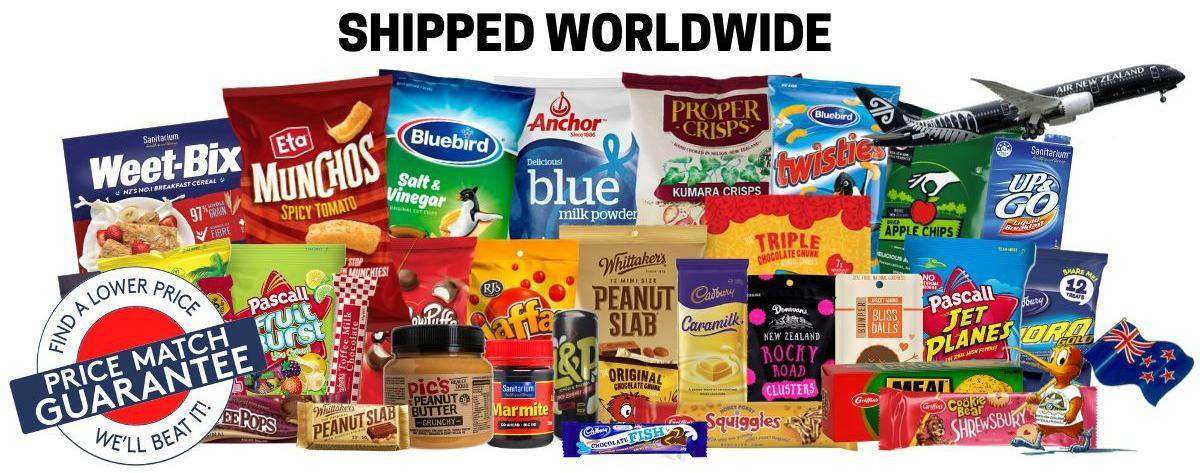Buy New Zealand Snacks Online | KiwiGrub