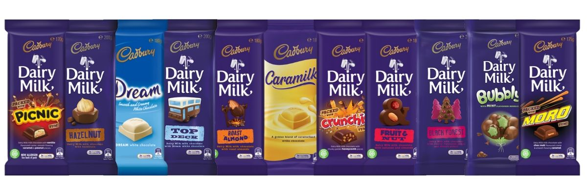 Cadbury Chocolate Blocks