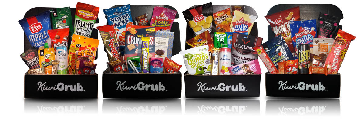 Past KiwiGrub Snack Subscription Boxes