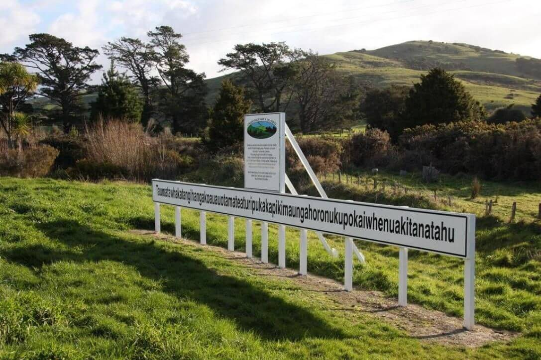 Longest Place Name In The World (New Zealand)