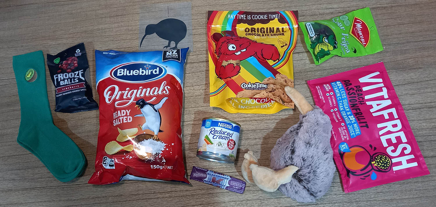 New Zealand Snack Care Box Giveaway Contest