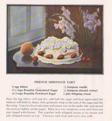 Pavlova Origin - The First Ever Pavlova Recipe