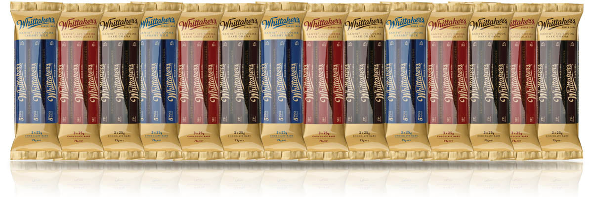 Whittaker's Sante Chocolate Bars 25g