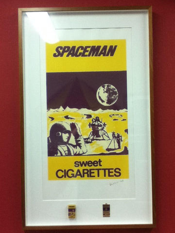 Original Spaceman 'Sweet Cigarette' Candy Sticks