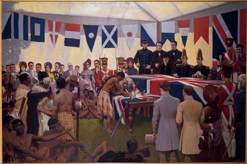 Treaty of Waitangi New Zealand