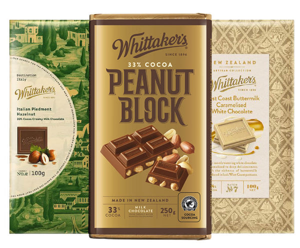Whittakers gift basket from New Zealand