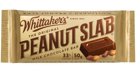 Whittaker's Peanut Slab Chocolate Bar
