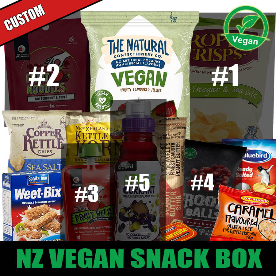 CUSTOM NZ Vegan Gift Box
