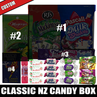 CUSTOM Classic NZ Candy Box (22pcs)