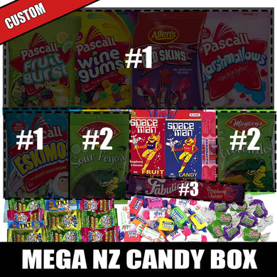 CUSTOM Mega NZ Candy Box (43pcs)