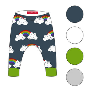 Be A Rainbow In Somone Elses Cloud - Leggings - FoXy RED RoCkS