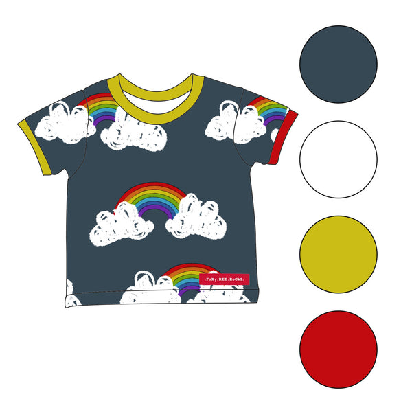Be A Rainbow In Someone Elses Cloud - t-shirts - FoXy RED RoCkS