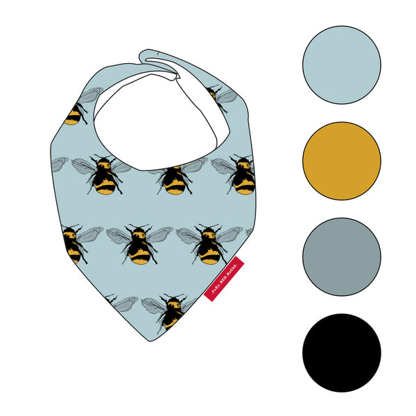 Bee Kind - Bibs - FoXy RED RoCkS