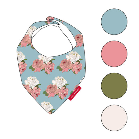 The Secret Garden - Bibs - FoXy RED RoCkS