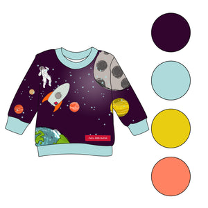 Fly Me To The Moon - sweatshirts - FoXy RED RoCkS