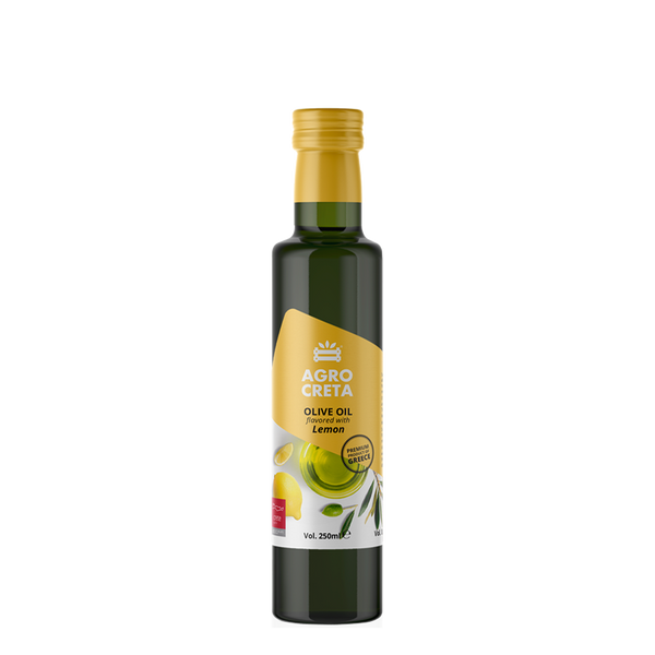 AGROCRETA Extra Virgin Olive Oil with Lemon - FarmOrganica