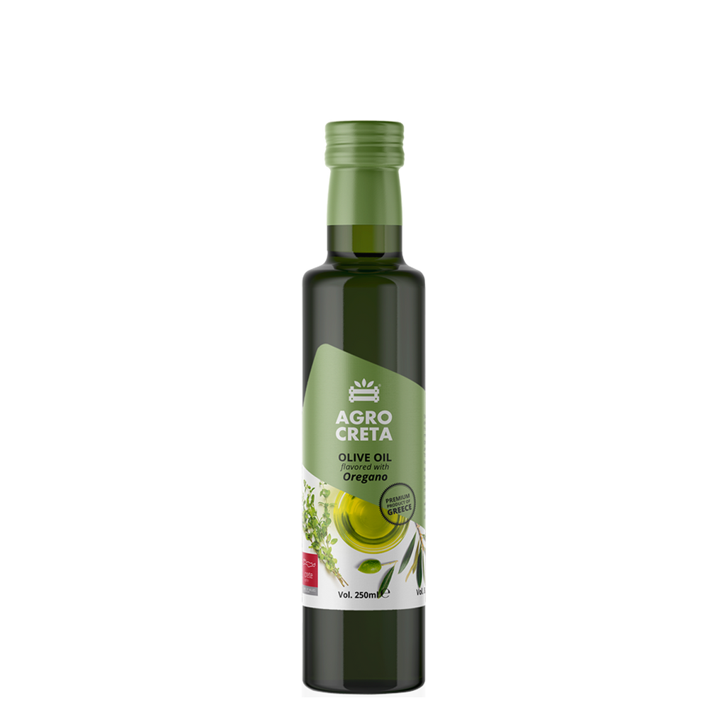AGROCRETA Extra Virgin Olive Oil with Oregano