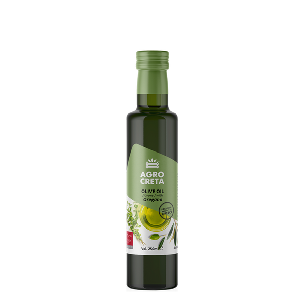 AGROCRETA Extra Virgin Olive Oil with Oregano - FarmOrganica