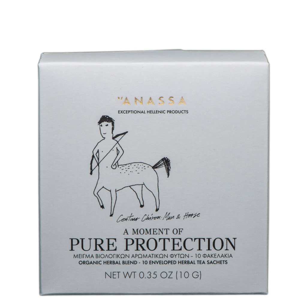 Anassa Organics Tea, Pure Protection Sachets, 10 g | FarmOrganica