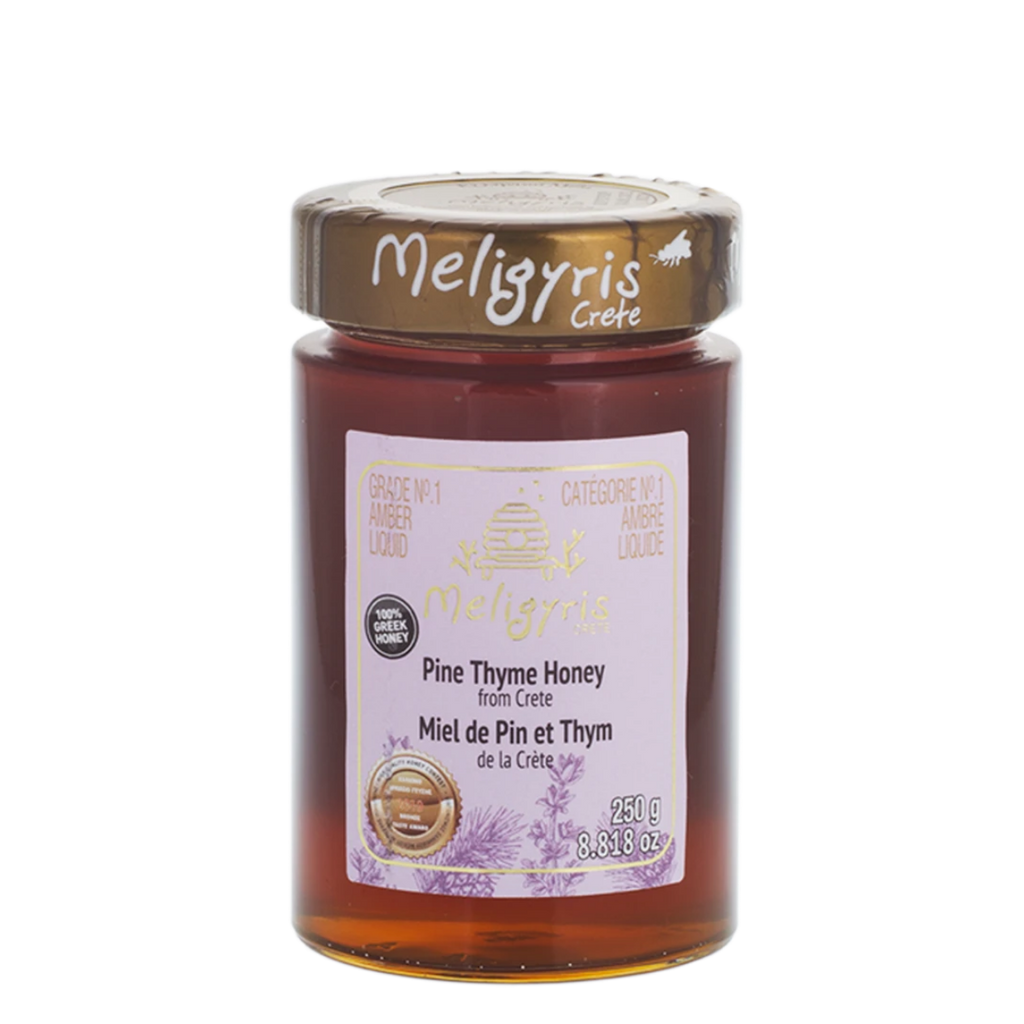 Meligyris Honey Pure Pin Thyme Honey, 250 g | FarmOrganica